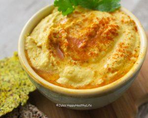 Schnelles und einfaches Rezept für selbstgemachtes Hummus