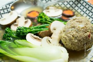 Asian Soup with Meatballs, Vegetables & Spices - Jules HappyHealthyLife Food Blog