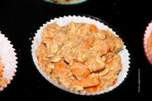 Karotten Apfel Muffins vegan und glutenfrei - Jules HappyHealthyLife Food Blog