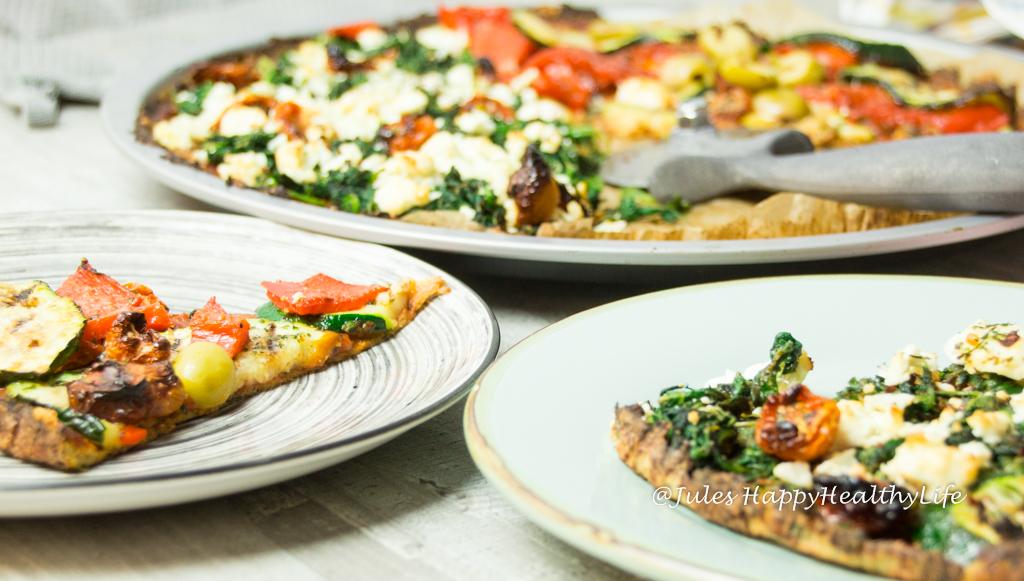 glutenfreie blumenkohl pizza jules happyhealthylife. Black Bedroom Furniture Sets. Home Design Ideas