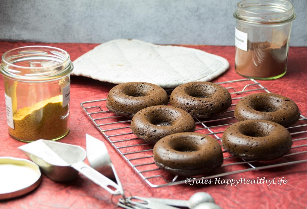 gebackene schoko donuts 5 jules happyhealthylife. Black Bedroom Furniture Sets. Home Design Ideas