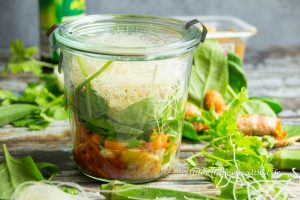 Miso Suppe zum einfachen mitnehmen glutenfrei, vegan
