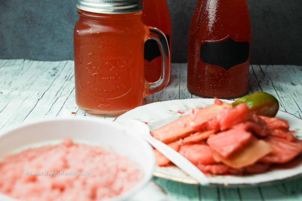 Ingwer Kefir auch Ginger Beer oder Ginger Root Beer genannt mit Probiotika und viel Vitamin B