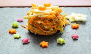 Gluten free recipe Vegan Kohlrabi Coleslaw