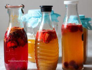 Jun Tee - Champagner des Kombucha - Für eure Darmgesundheit durch Probiotika