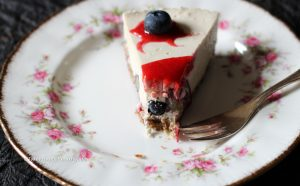 For people close to your heart this Lemon Berry Cheese Cake