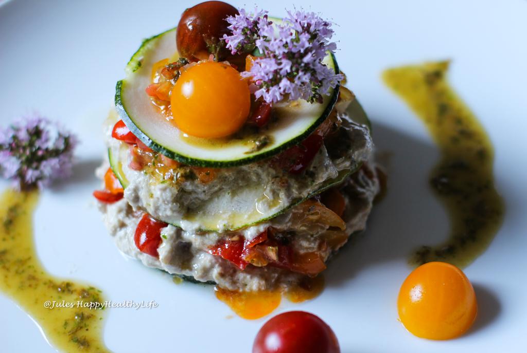 Auch mit Rohkost Küche kann man begeistern - Vegane Getrüffelte Zucchini Lasagne