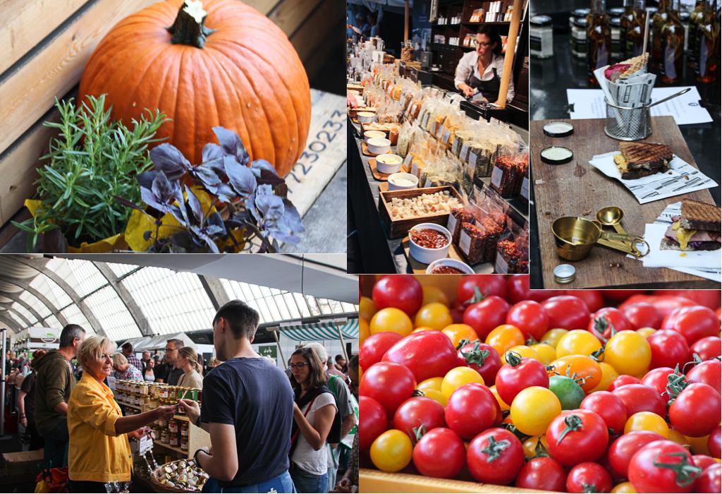 Besuch auf dem Hamburger Food Market auf dem Großmarkt in Hamburg
