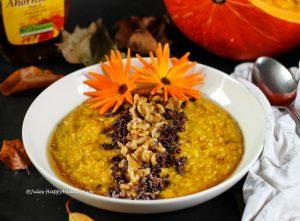 Recipe for gluten-free, vegan Pumpkin Buckwheat Porridge