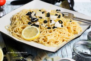 Spaghetti with Lemon Sauce is a quick and easy pasta recipe