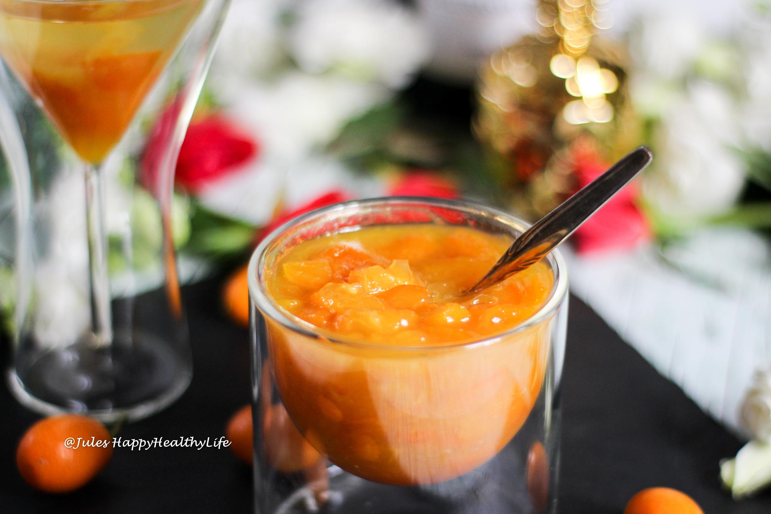 Spiced kumquats with Sparkling Wine - Recipe