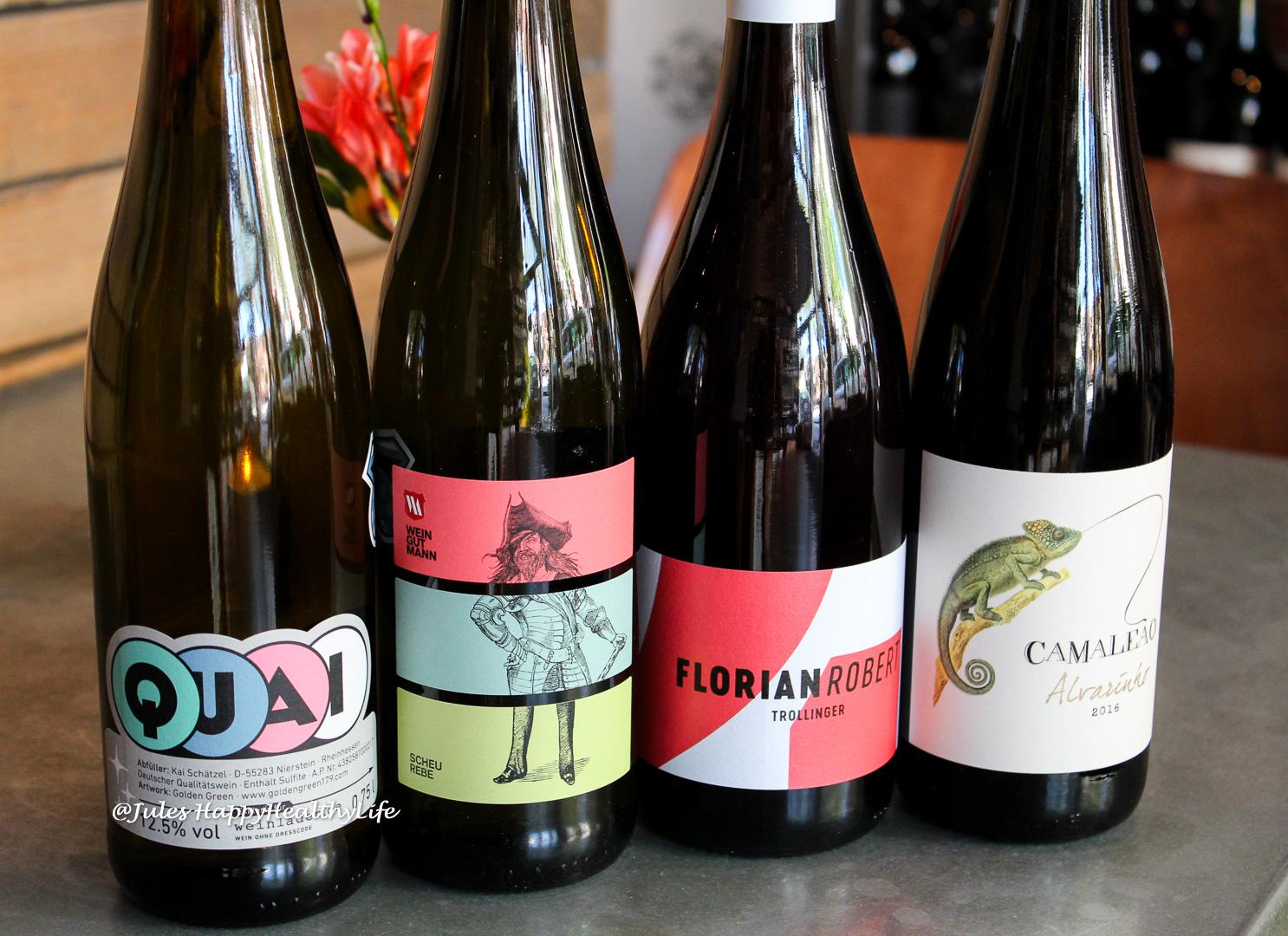 Quai Grauburgunder, Mann Scheurebe, Florian Robert Trollinger und Camaleao Alvarinho sind die Weinempfehlungen für den Sommer.
