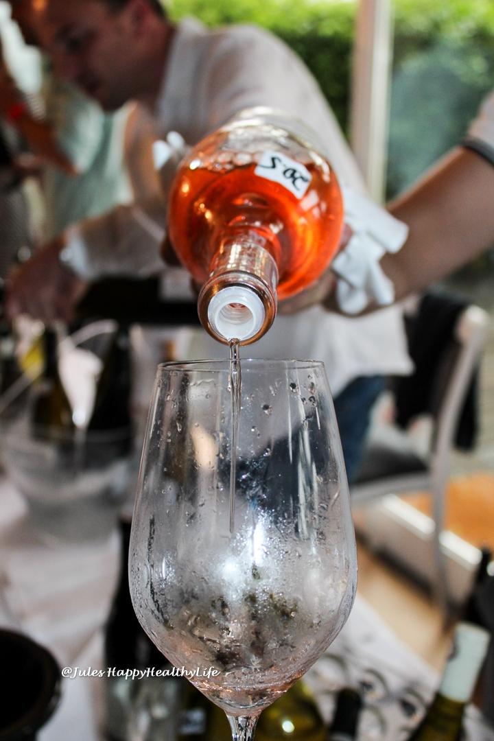 Gelungener Wein Event Wein am Fluss