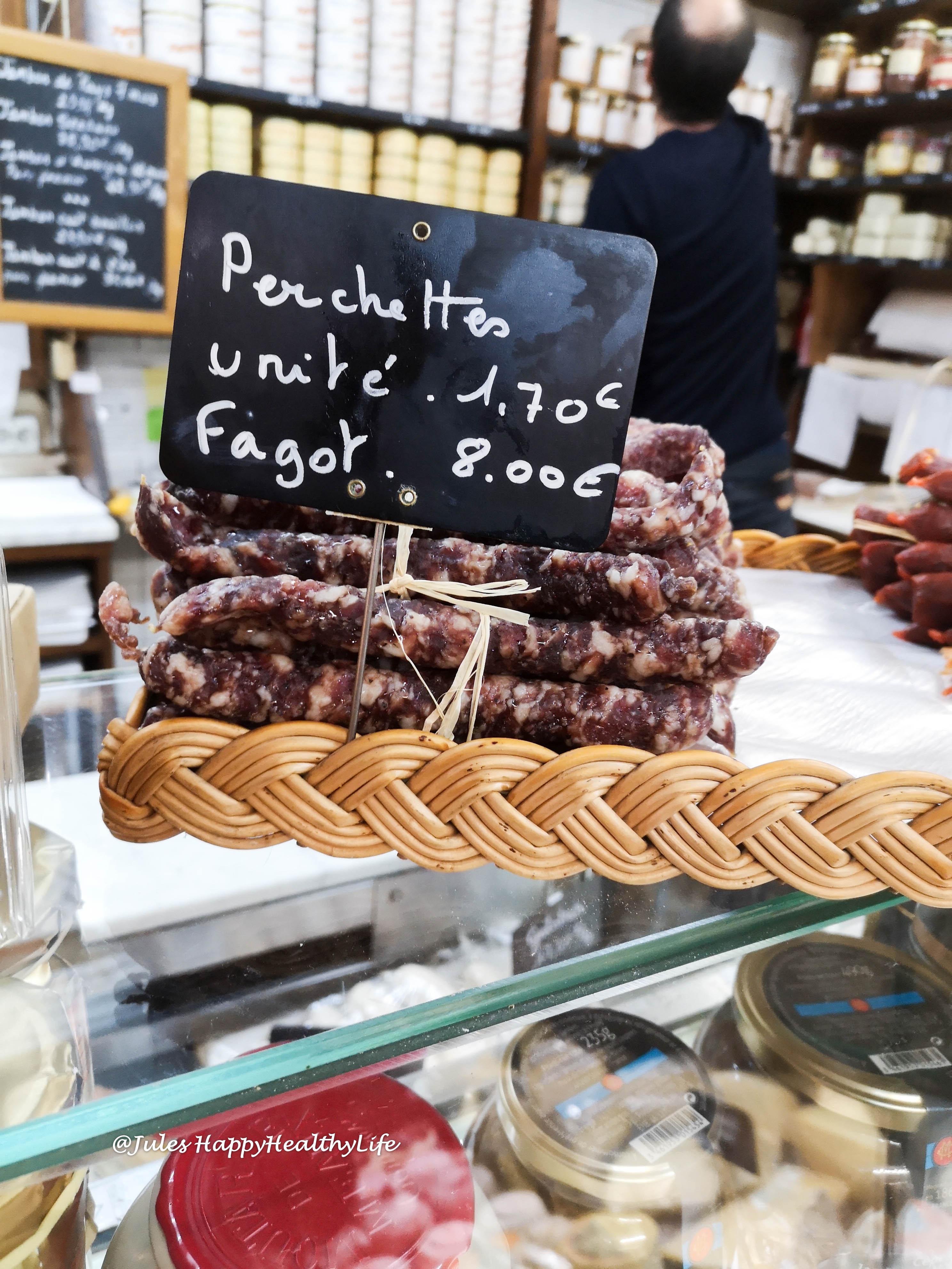 Spezialitätengeschäft für Foie Gras und Wurst