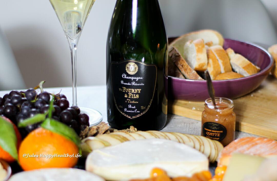 Champagner zu cremigen Käsesorten