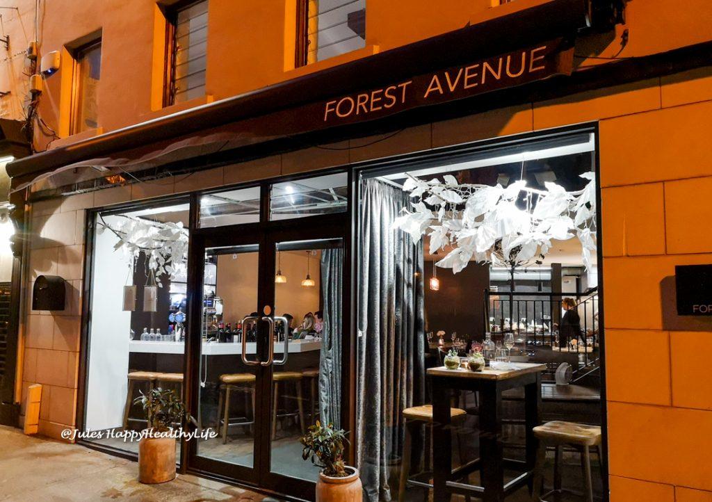 Restaurant Tipp - Forest Avenue in Dublin für gehobene Küche, sehr guten Wein und tollen Service