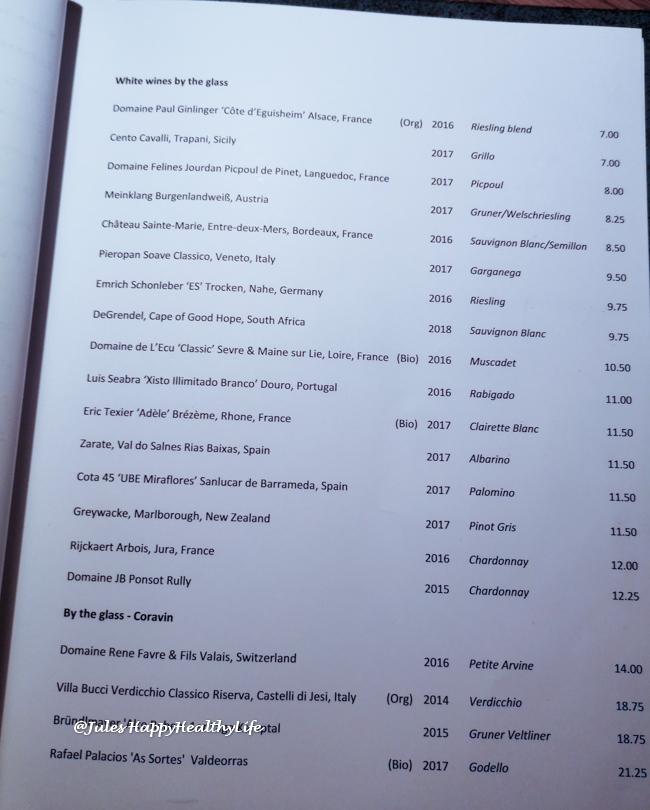 Viele offene Weißweine in ely Winebar & Restaurant in Dublin