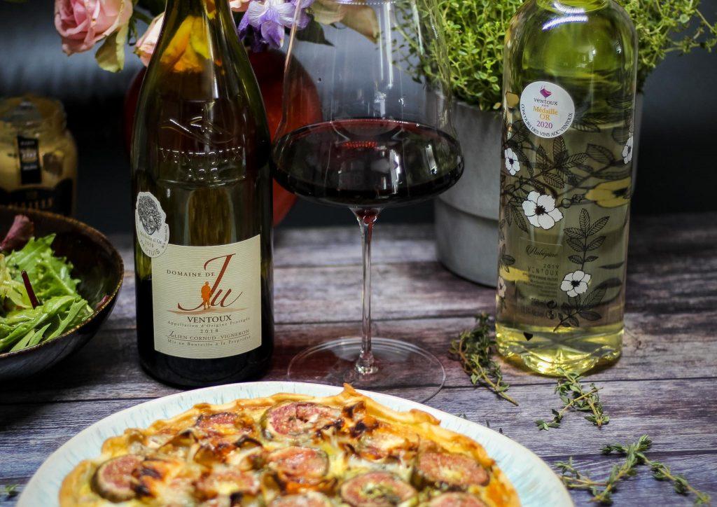Rotweine und Weißweine aus Ventoux